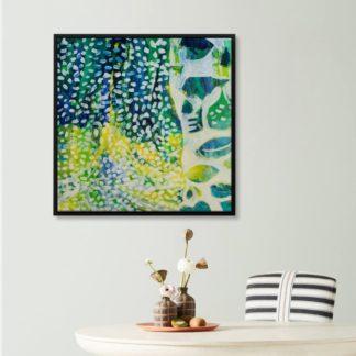 tranh-canvas-treo-tuong-co-khung-sac-xanh