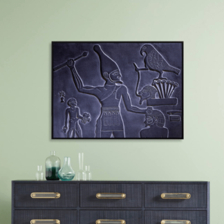 tranh-canvas-treo-tuong-co-khung-dieu-khac-co