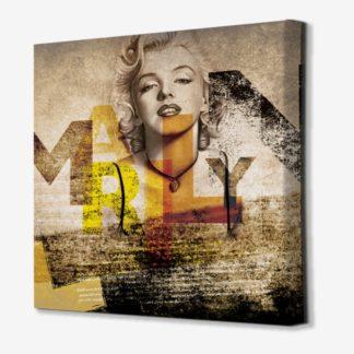 Marilyn Monroe - Tranh Canvas chân dung treo tường 80x80 cm