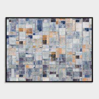 Abstract Blue - Tranh canvas trừu tượng