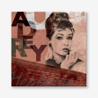 Audrey Hepburn - Tranh Canvas chân dung treo tường