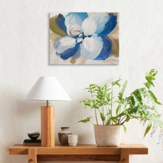 Hoa Xanh - Tranh canvas treo tường 40 x 60 cm
