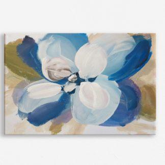 Tranh canvas treo tường Hoa Xanh