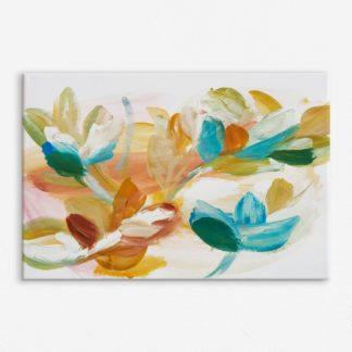 Sắc Hoa Xuân - Tranh canvas treo tường 40x60 cm