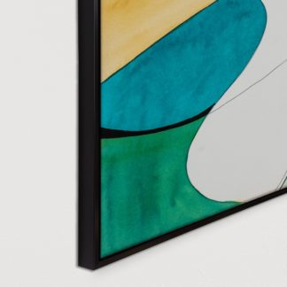 Đối lập - Tranh canvas trừu tượng treo tường 50x70 cm