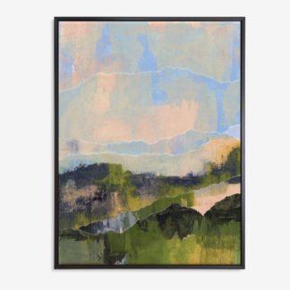 Đồi núi xanh - Tranh canvas phong cảnh treo tường 60x80 cm