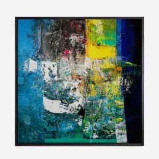 Blue View - Tranh canvas trừu tượng treo tường