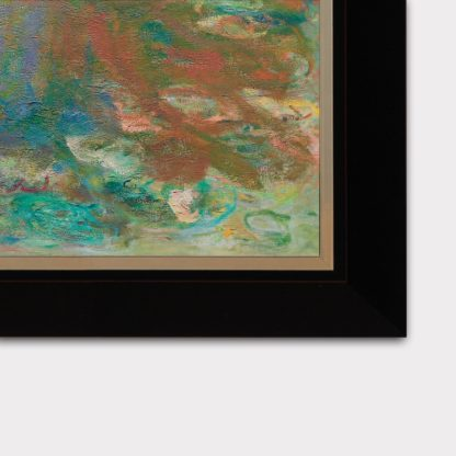 Tranh canvas treo tường water lyly pond