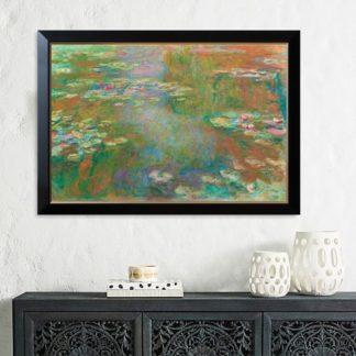 Water Lily Pond - Tranh canvas treo tường 80x120cm