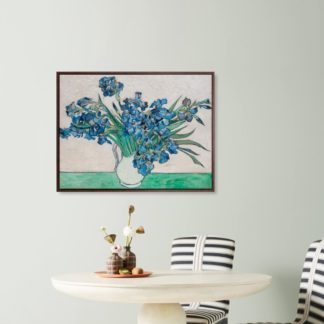 Irises - Tranh canvas treo tường Vincent Van Gogh 80x100 cm