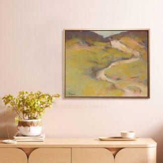 Pathway in a Field- Tranh canvas phong cảnh Edgar Degas