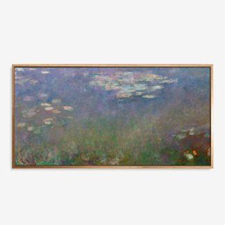 Water Lilies  - Tranh canvas treo tường 60x120 cm