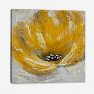 Bộ 3 tranh canvas treo tường Hoa Vàng 30x30 cm/tranh