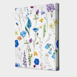 Mảng tường hoa - Tranh Canvas treo tường 40x60 cm/tranh