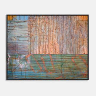 Những dòng kẻ - Tranh canvas trừu tượng 60 x 80 cm