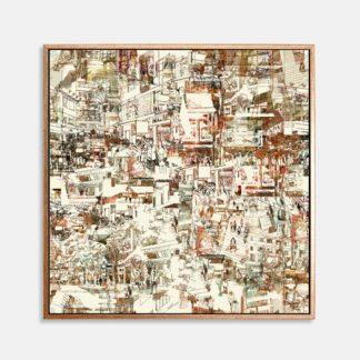 Daily life - Tranh canvas kiến trúc treo tường