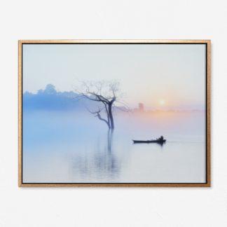 Sáng Tinh Mơ - Tranh canvas phong cảnh treo tường