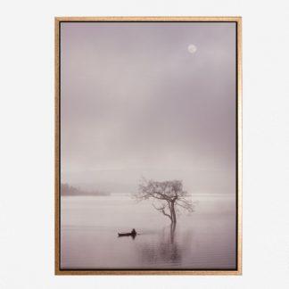 Tĩnh Lặng - Tranh canvas phong cảnh treo tường 60x80cm
