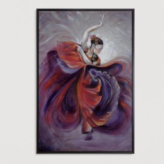 tranh-ve-son-dau-vu-dieu-Flamenco