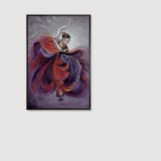 Vũ điệu Flamenco - Tranh vẽ sơn dầu 80x120 cm