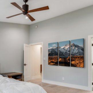 Bộ 3 tranh canvas treo tường Mountain road 40x80 cm/tranh