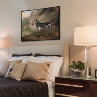 Ngựa vằn - Tranh Canvas treo tường