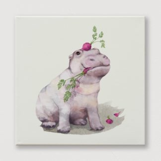 Động vật kỳ thú - Tranh Canvas treo tường 30x30 cm