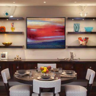 Miên Hỏa - Tranh vẽ sơn dầu 80x100 cm