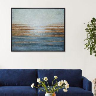 Kim - Tranh vẽ sơn dầu 80x100 cm