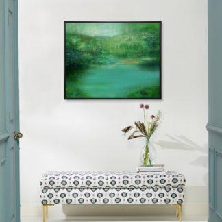 Mộc - Tranh vẽ sơn dầu 80x100 cm
