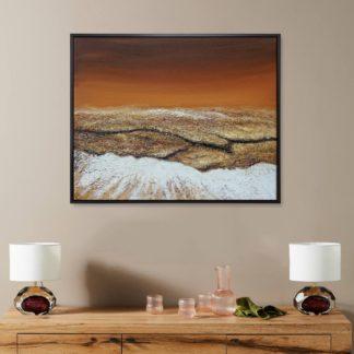 Thổ - Tranh vẽ sơn dầu 80x100 cm