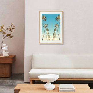 Bộ 2 tranh khung kính treo tường Summer Vibe 40x60 cm/tranh