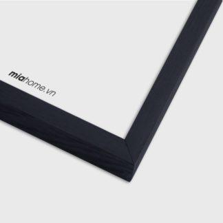 Khung Tranh Gỗ Sồi Black Ebony 1.5 40x60cm A2