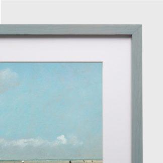 Khung Tranh Gỗ Sồi Drift Gray 1.5 50x70 cm