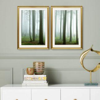 Bộ 2 tranh khung kính treo tường The Forest 50x70 cm/tranh
