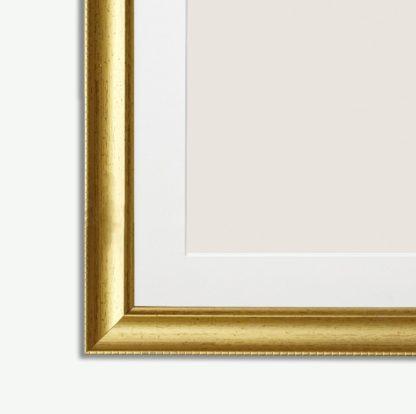 khung tranh composite vàng vaco2.2