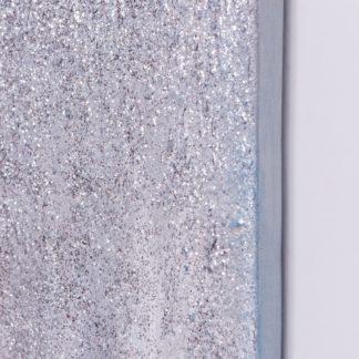 Kim Aqua - Tranh ánh kim sơn dầu treo tường 80x120 cm