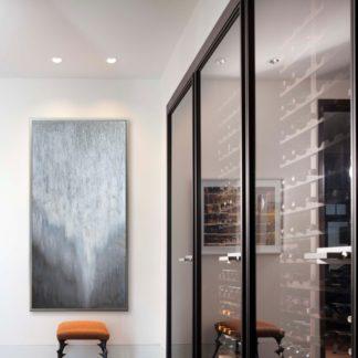 Kim Pearly - Tranh ánh kim sơn dầu treo tường 70x140 cm