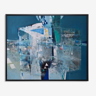 Blue Abstract Art - Tranh Canvas treo tường