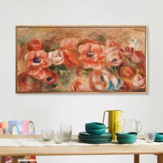 Anemones 2 - Tranh canvas treo tường danh hoạ Barnes Foundation
