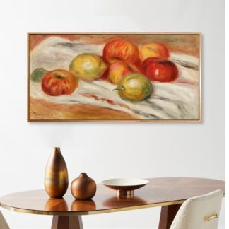 Apples, Orange and Lemon - Tranh canvas treo tường danh hoạ Pierre-Auguste Renoir