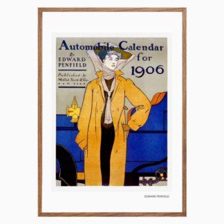 Poster-Automobile-calendar-for-1906