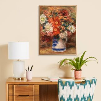 Bouquet - Tranh canvas treo tường danh hoạ Odilon Redon