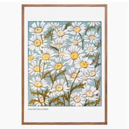Poster Card Depicting Flower 1865 - 1899