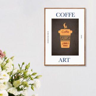 Poster Coffee treo tường
