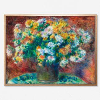 tranh-treo-tuong-canvas-Chrysanthemums