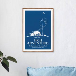 Poster High Advanture Edward Penfield
