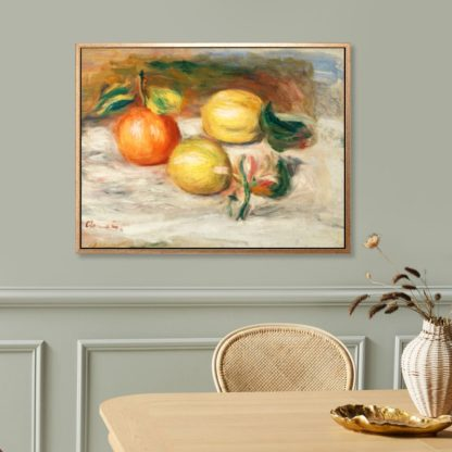 Lemons and orange - Tranh canvas treo tường danh hoạ