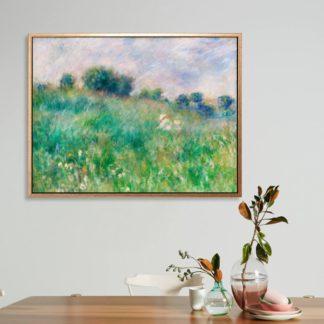 Meadow - Tranh canvas treo tường danh hoạ Pierre-Auguste Renoir