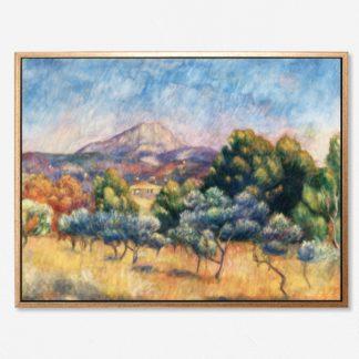 Montagne Sainte - Tranh canvas treo tường danh hoạ